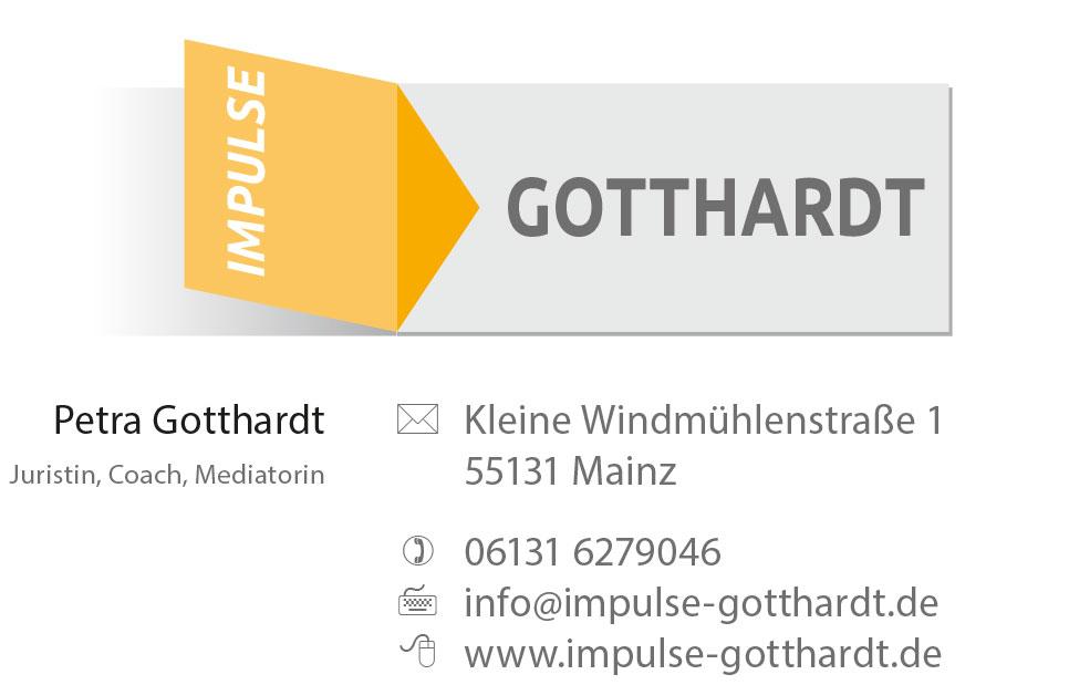 Visitenkarte Impulse Gotthardt